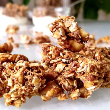 Crunchy granola met een Puur Westerwolds tintje